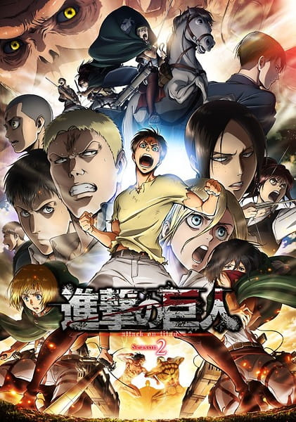Attack on Titan Season 2, Attack on Titan Season 2,  進撃の巨人 Season2
