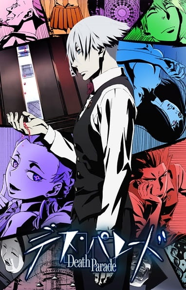 Death Parade Anime Cover