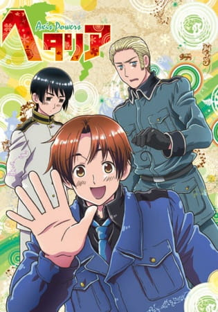 Hetalia Axis Powers, Hetalia Axis Powers,  ヘタリア Axis Powers