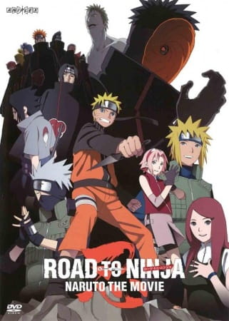 Naruto: Shippuuden Movie 6 - Road to Ninja poster