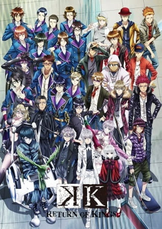 K: Return of Kings, K: Return of Kings,  K-Project Sequel, K 2nd Season,  K RETURN OF KINGS