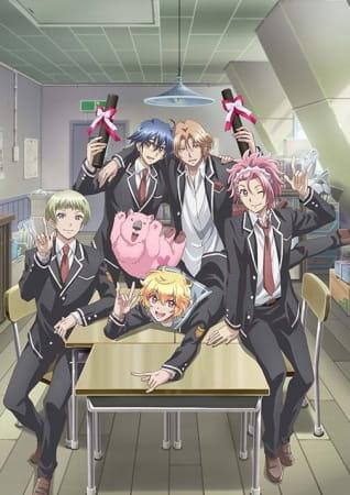 Cute High Earth Defense Club LOVE! LOVE! LOVE!, Cute High Earth Defense Club LOVE! LOVE! LOVE!,  美男高校地球防衛部LOVE! LOVE! LOVE!