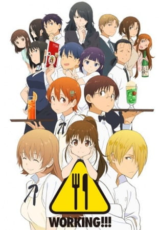 Wagnaria!!3, Wagnaria!!3,  Working!! 3rd Season, Working!! Third Season,  ワーキング!!!