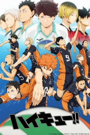 Haikyu!!, Haikyu!!,  High Kyuu!!, HQ!!,  ハイキュー!!