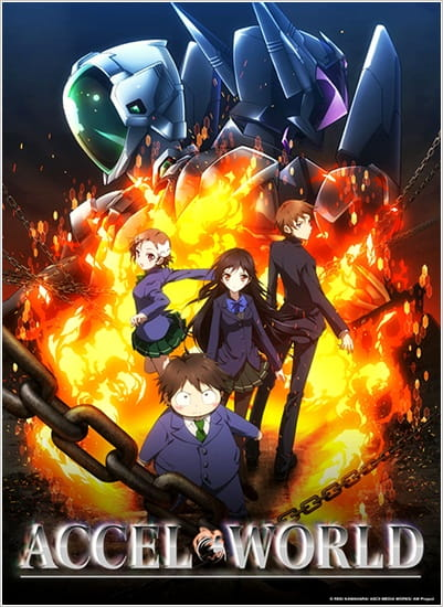 Accel World Anime Cover