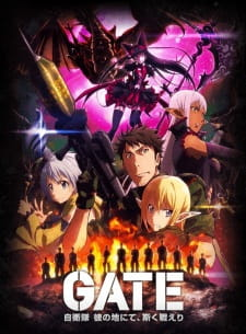 Gate: Jieitai Kanochi nite, Kaku Tatakaeri 2nd Season BD Batch Episode 01-12 END Sub Indo