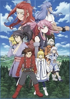 Cover Tales of Symphonia The Animation: Tethe`alla Hen