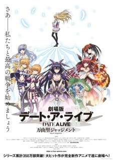 Date A Live Movie: Mayuri Judgment Subtitle Indonesia
