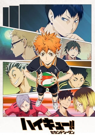 Haikyu!! 2nd Season, Haikyu!! 2nd Season,  Haikyuu!! Second Season,  ハイキュー!! セカンドシーズン