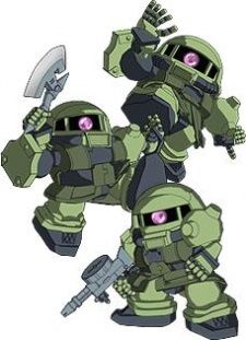 Zako Soldiers