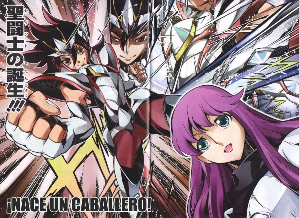 Saint Seiya Omega: New Cross Tanjou-hen | Manga - Pictures