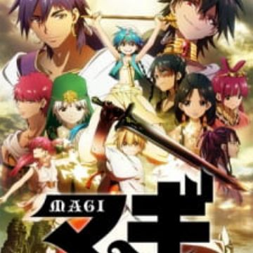 Magi The Labyrinth Of Magic Myanimelist Net