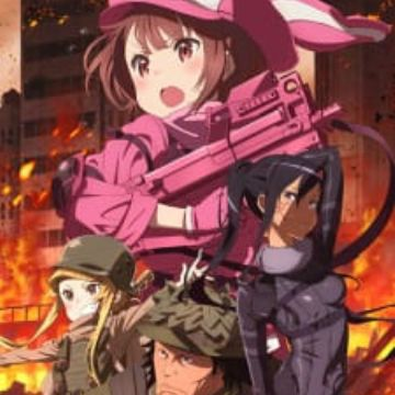 Sword Art Online Alternative: Gun Gale Online - MyAnimeList net