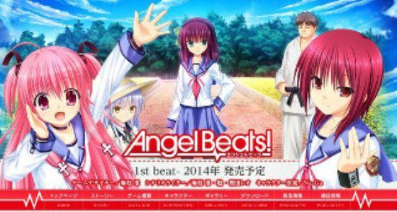The Legend of the Angel Beats Visual Novel - MyAnimeList net