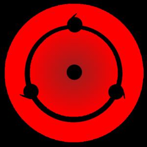 shape of sharingan in naruto