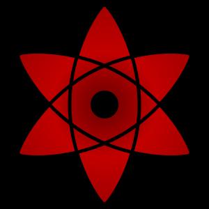 shape of uchiha sasuke's mangekyou sharingan in naruto