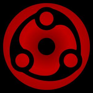 shape of uchiha madara's mangekyou sharingan in naruto