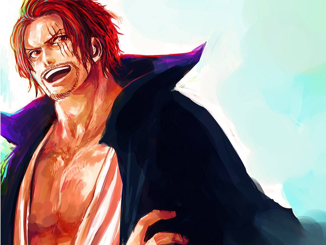 one piece character shanks