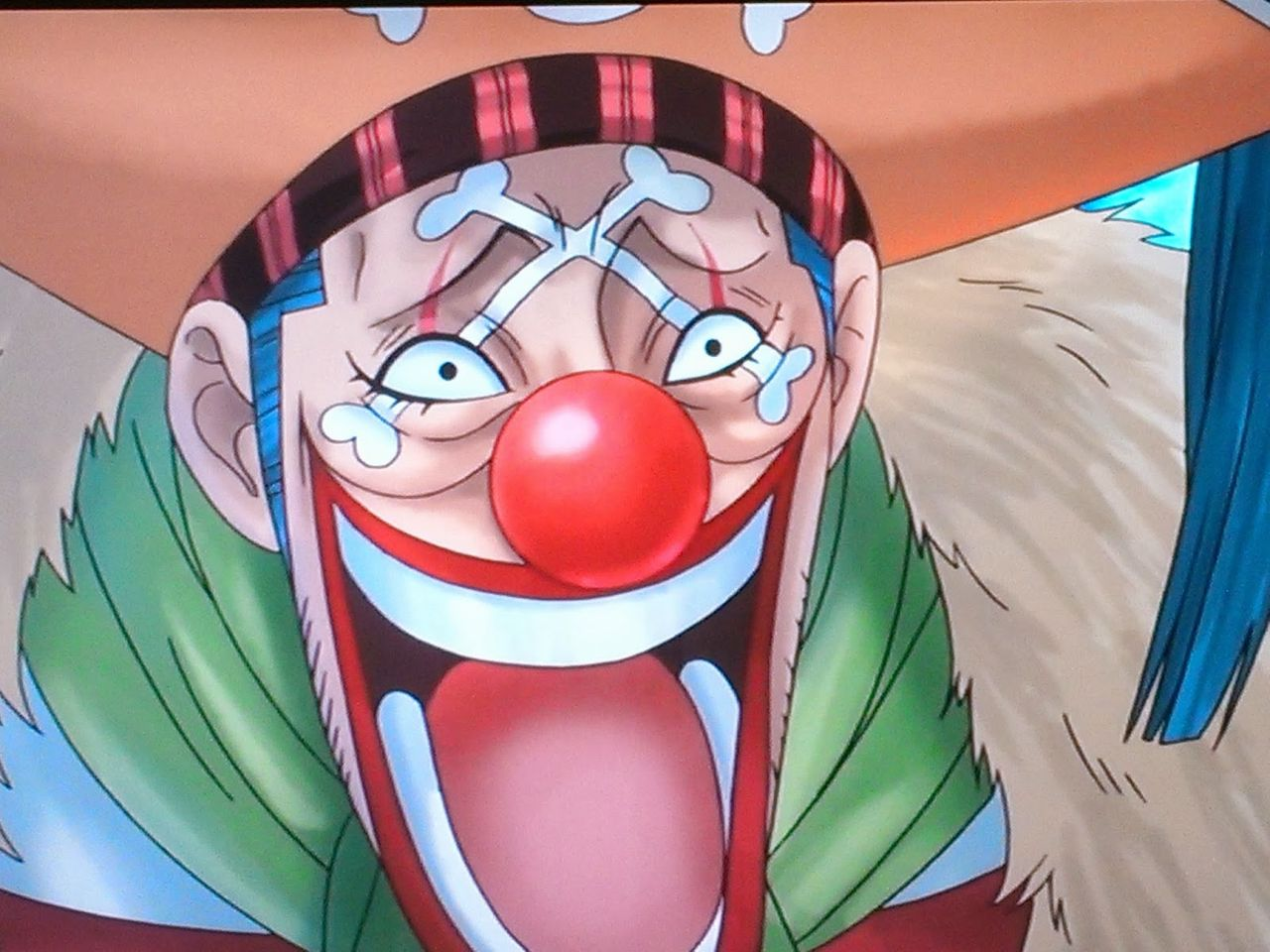 one piece character buggy