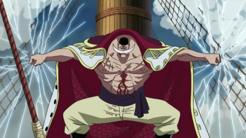 one piece character white