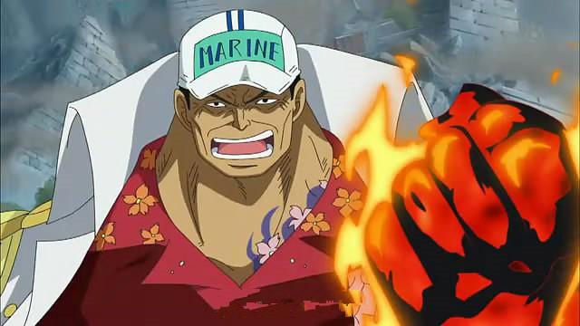 one piece character akainu