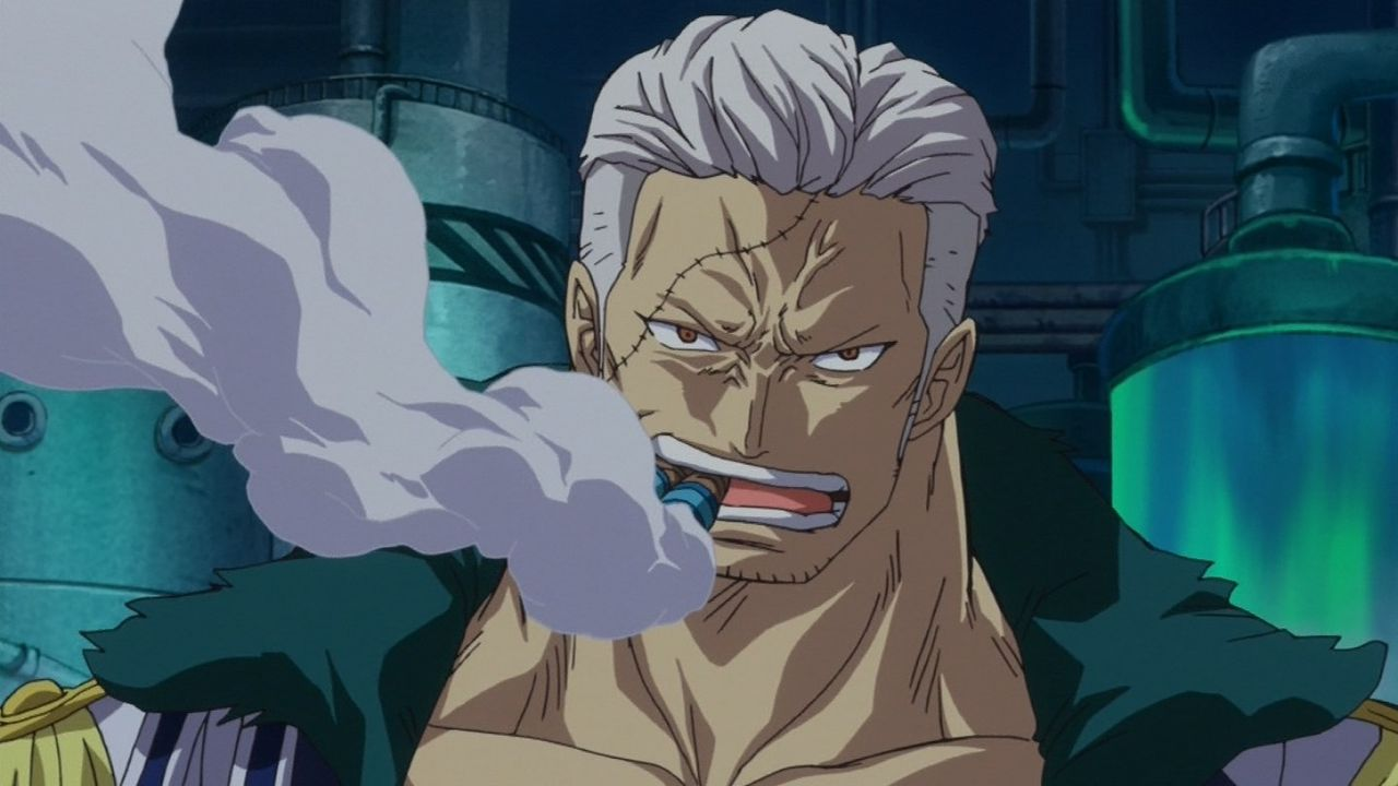 one piece character smoker