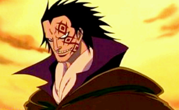 one piece character dragon