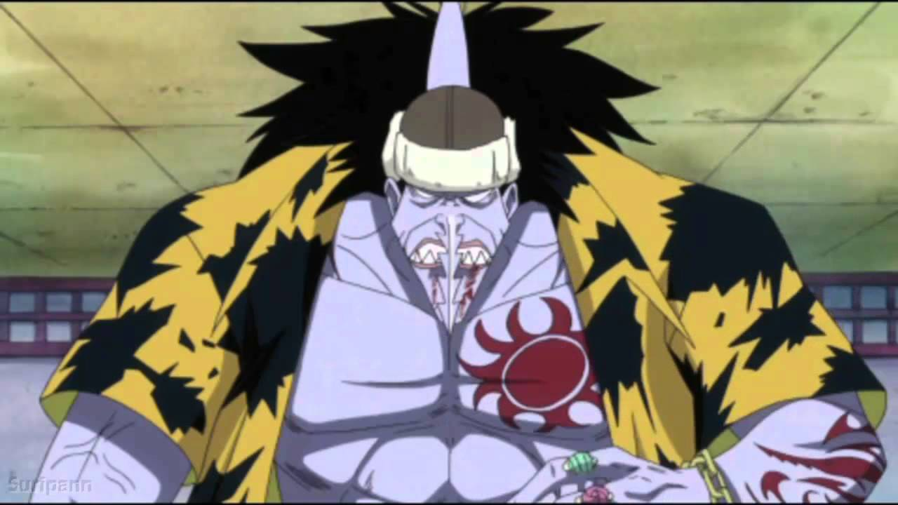 one piece character arlong
