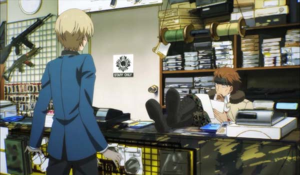 Aoharu\ X\ Kikanjuu\ hotaru\ in\ gun\ shop