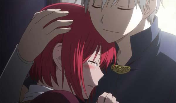 zen shirayuki hug akagami no shirayuki