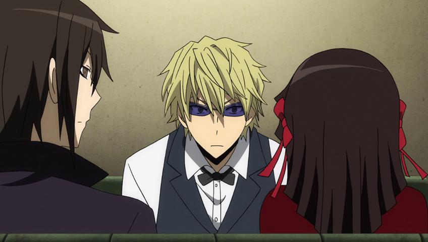 Durarara Shizuo stares