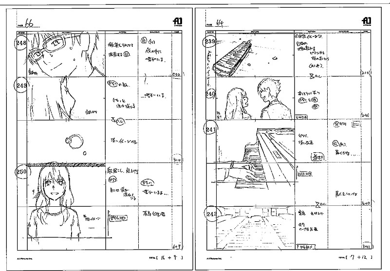 your lie in april storyboard