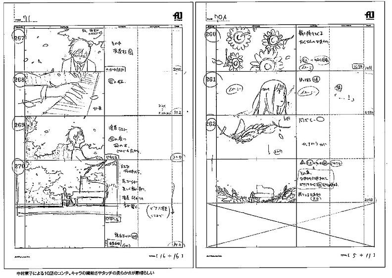 shigatsu wa kimi no uso storyboard