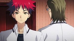 Shokugeki no Souma Who the hell do you think I am?