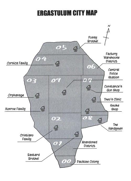ergastulum city map