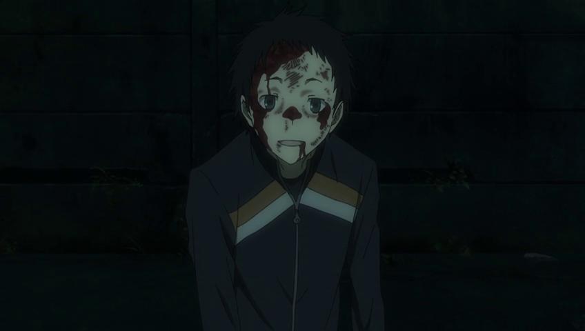Durarara!!x2 Ten Mikado blood face