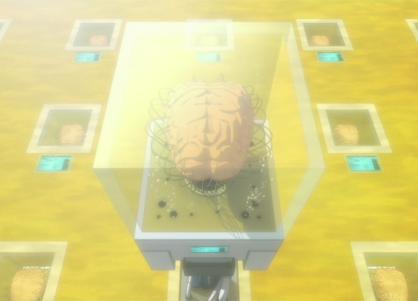 Psycho-Pass - brain case