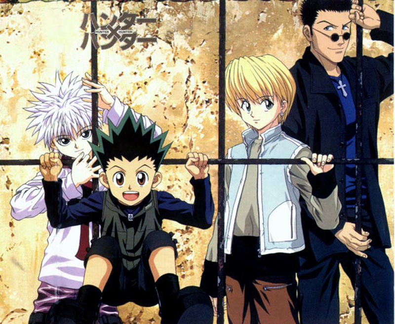 Hunter X Hunter: Killua, Gon, Kurapika and leorio