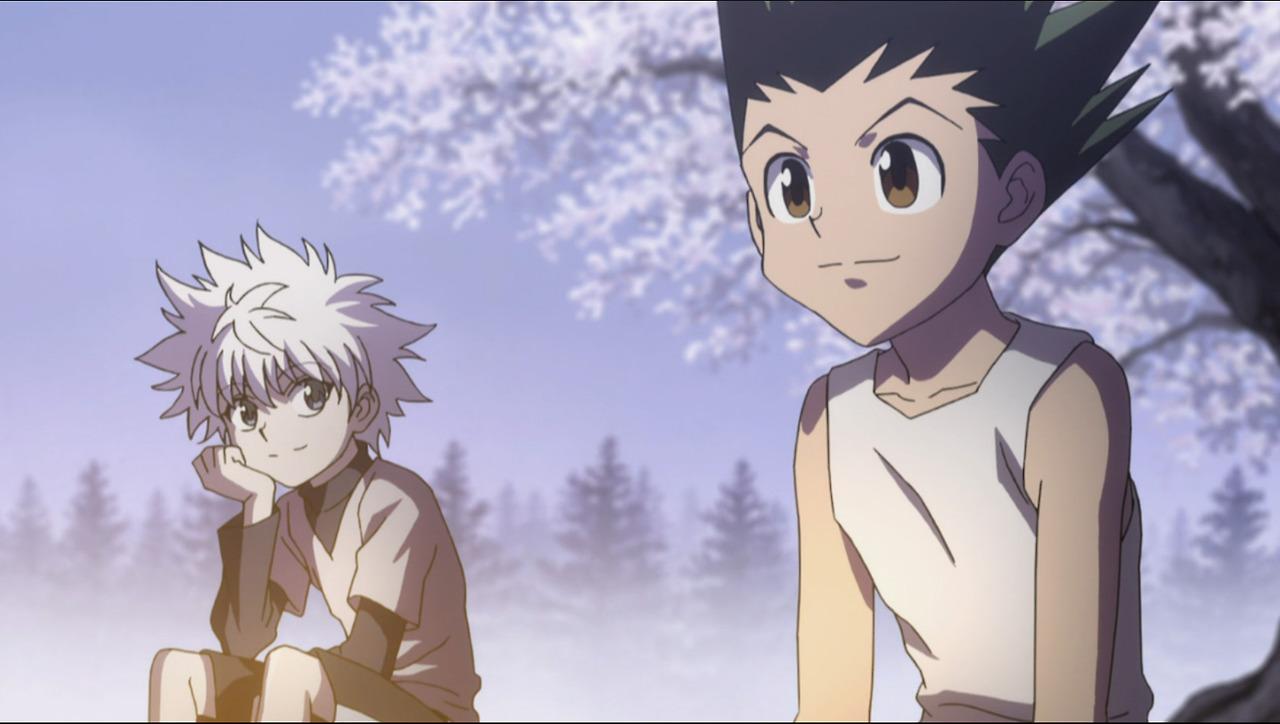 Hunter X Hunter Gon and Killua