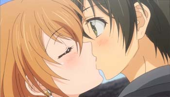 Golden Time Kiss