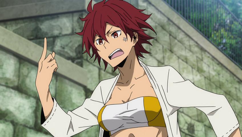 Durarara!!x2 Ten karate redhead