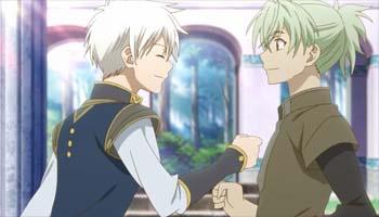 Anri and Zen Akagami no Shirayukihime