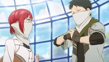 Obi and Shirayuki Akagami no Shirayukihime