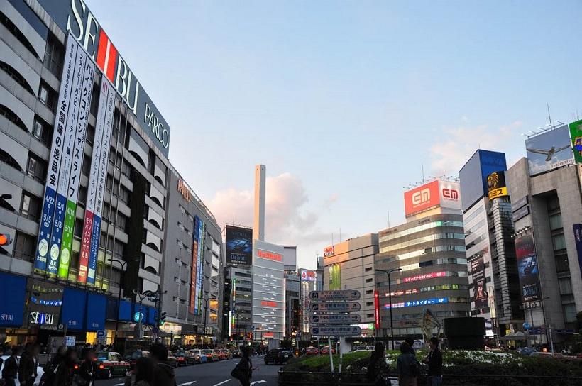 Ikebukuro view