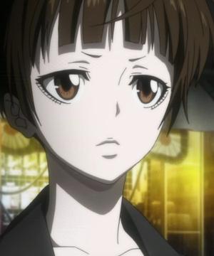 Psycho-Pass - Akane Tsunemori serious