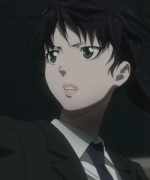 Psycho-Pass - Yayoi Kunizuka anxious