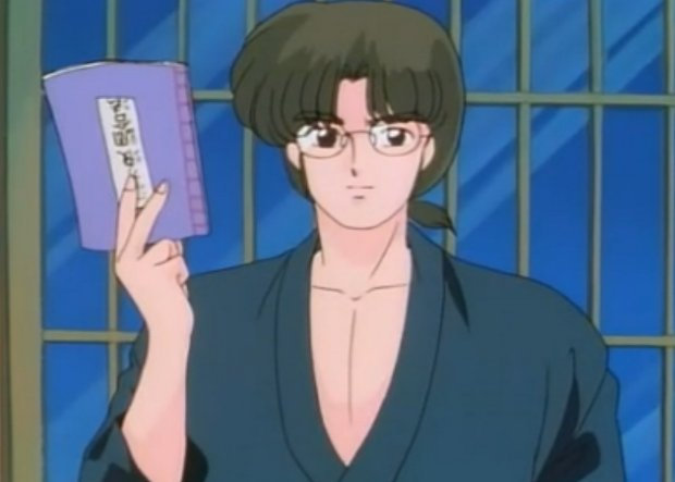 Ranma 1/2 Dr. Tofu got your back