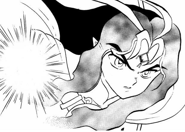 Ranma 1/2 Saffron vows vengance