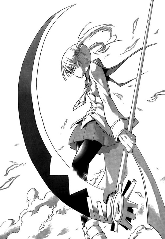 Soul Eater Maka side view from manga
