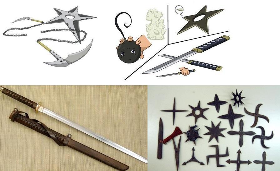 Soul Eater Tsubaki Weapon Forms